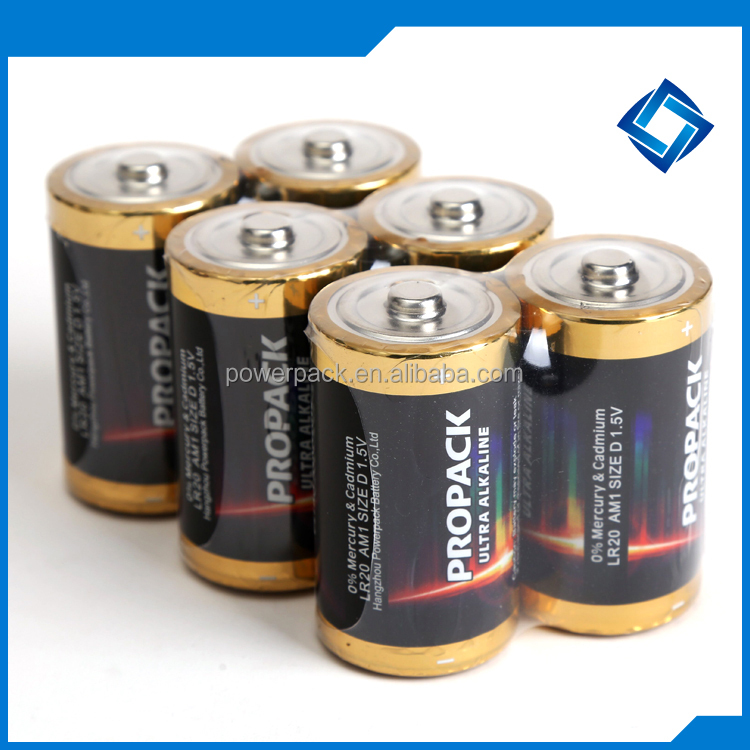 LR20 size D Super Alkaline Batteries