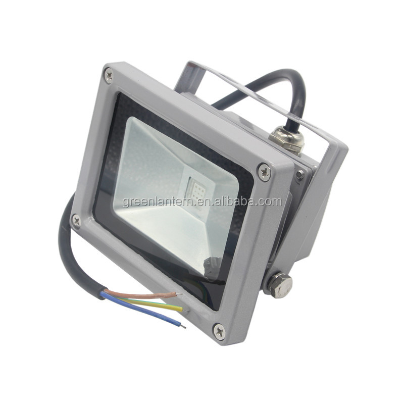 10 와트 높은 전원 야외 조명 RGB led 투광 조명-LED 정원은 점화한다 ...