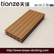 Easy to clean skateboard composite plastic dock decking