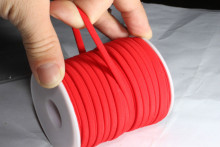 Red Color Elastic Rope Cords 5mm elastic string cord