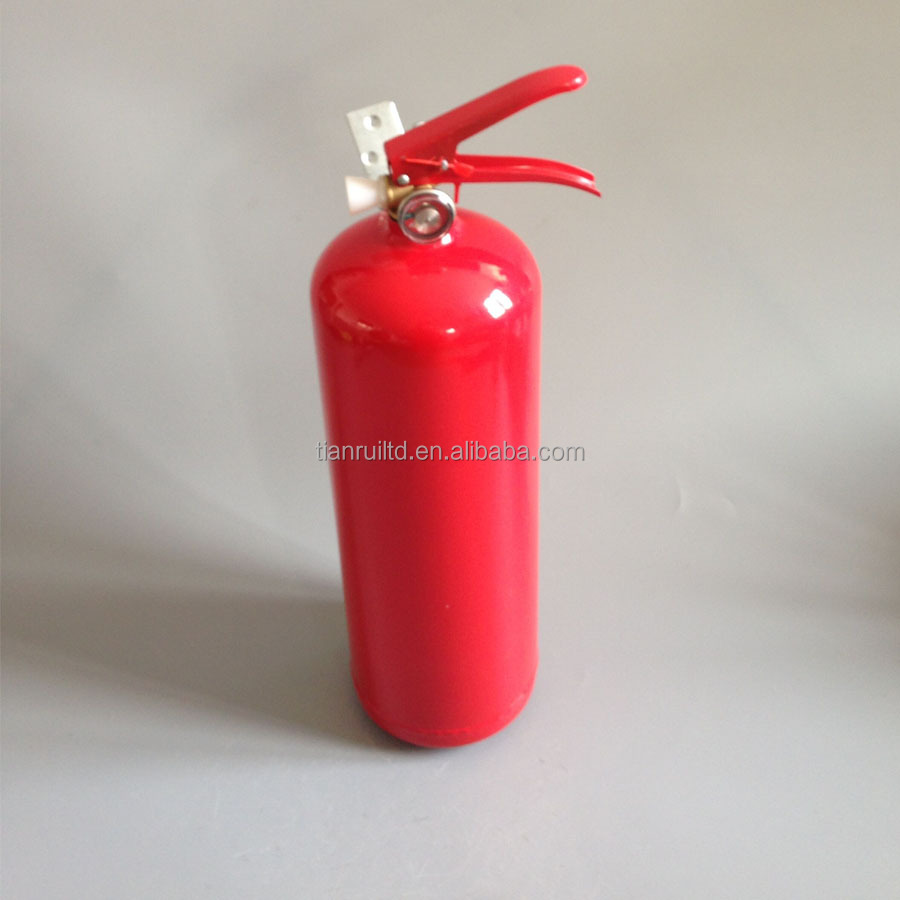3Kg portable ABC dry powder fire extinguisher, with bracket,with white hose nozzle