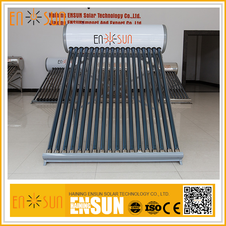 Compact Non Pressure Heater Galvanized Steel Solar Hot Water