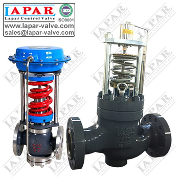 Self-operated pressure regulation valve