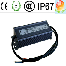 60w,80w,100w,150w,200w ip67 0/1~10v dimmable led driver/waterproof constant voltage led power supply
