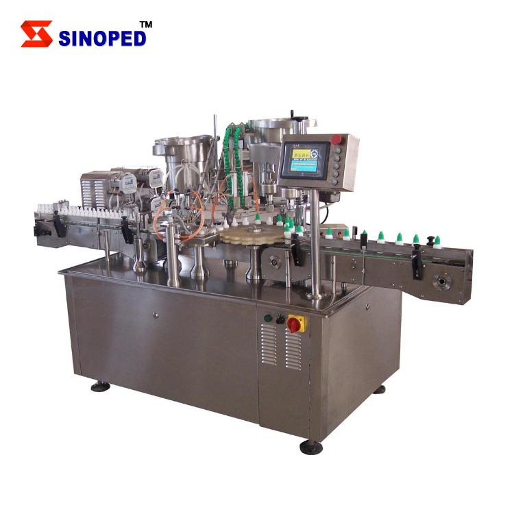 2017 SINOPED Electric automatic with CE medical eye drop filling machine with good price