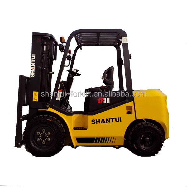 SF30 3 T diesel cheap forklift with China engine 490