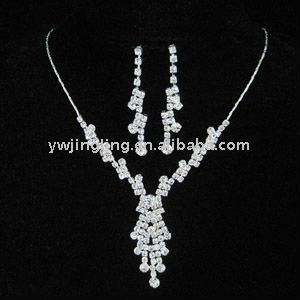 Charming wedding jewelry sets