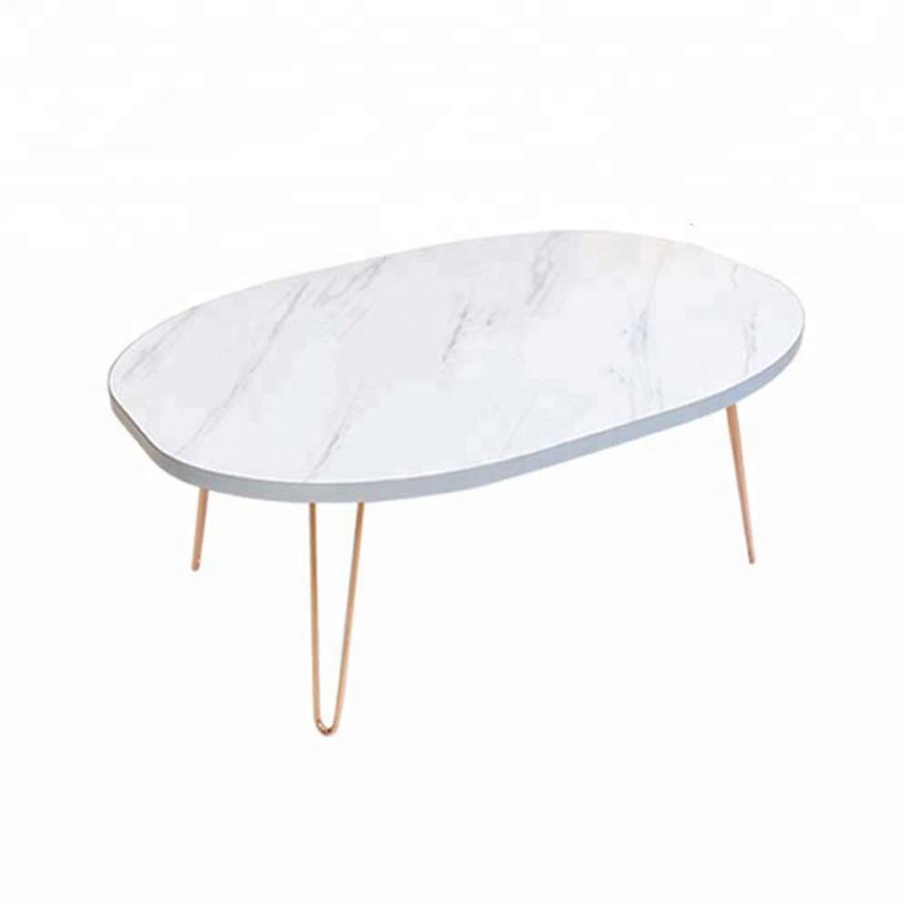 marble pvc film pressed dining folding MDF floor <strong>table</strong>