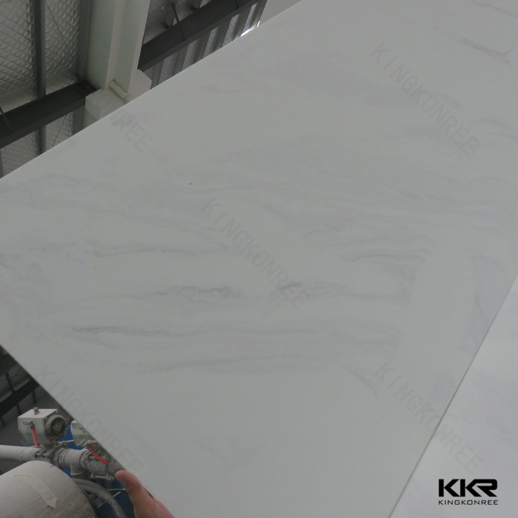 Cultured marble material, resin for solid surface, acrylic solid surface sheet