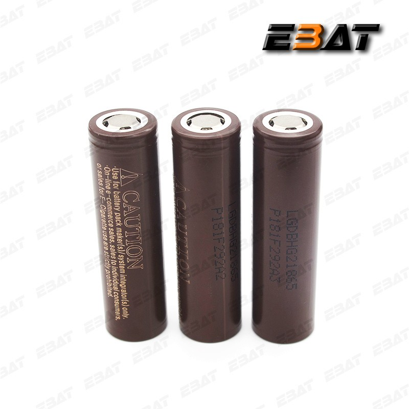 bulk buying original lgdbhg21865 battery brown hg2 18650 3000mAh li-ion battery 186503.7v