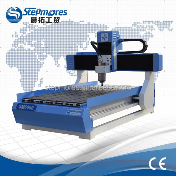 600x900mm CE certificated cnc router machine / 3d cnc router for wood,metal,aluminum,pvc