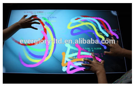 "10.1"" Projected capacitive touch screen overlay kit /capacitive touch g+g screen"
