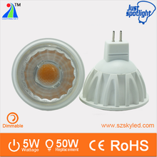 3w 5w cob 220V dimmable 24V gu10 led mr16 12v