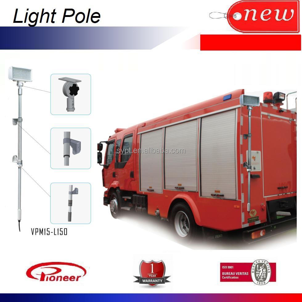 Wrecker truck LED portable scene light tower