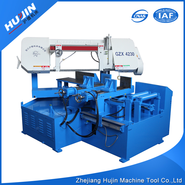 Logo Printed Dissimilarity General Angel Cutting Pipe Band Saw Machine