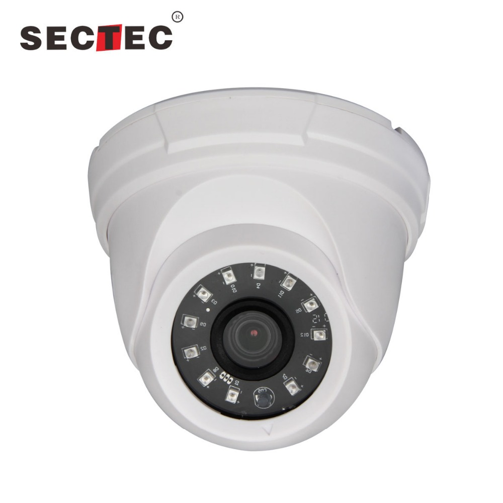 Sectec 1080P HD Video AHD Dome Long Distance Top <strong>10</strong> CCTV <strong>Security</strong> Camera