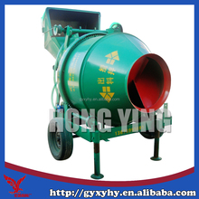 Popular Hongying JZC300 full-automatic self-loading concrete mixer machine price in india
