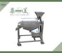 Single channel fruit vegetable beating machine/beater/pulper