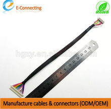 LCD TV LVDS cable, lvds cable with attached mini usb connector