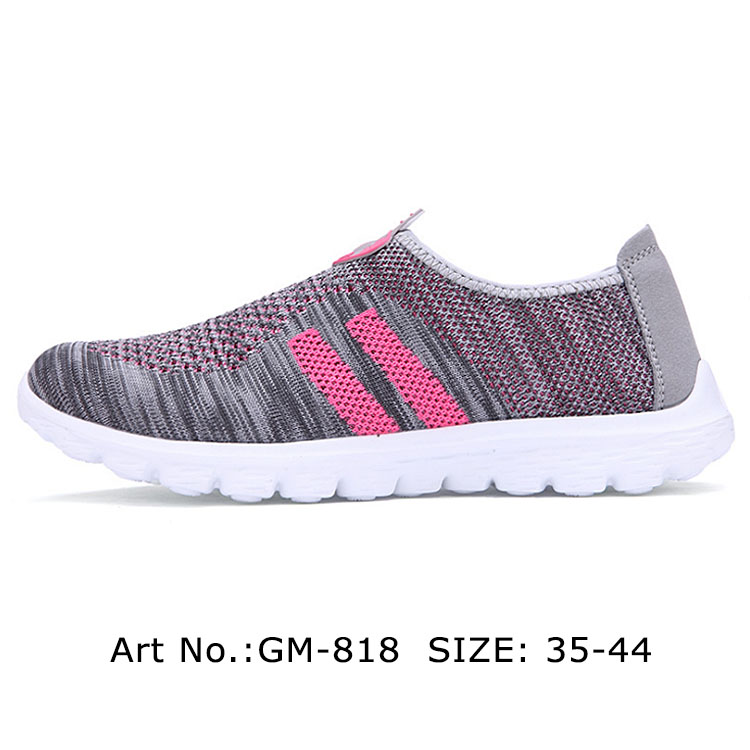 Girls Slip On Made In China Casual Women Sport Shoes