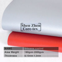 thermal silicone rubber impregnated fiberglass fabric fire covers