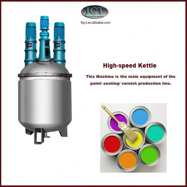 kcc paint production machinery
