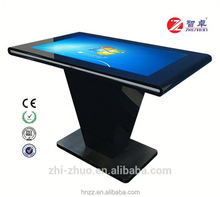 Android slim capacitive 10 points touch interactive table top touch screen