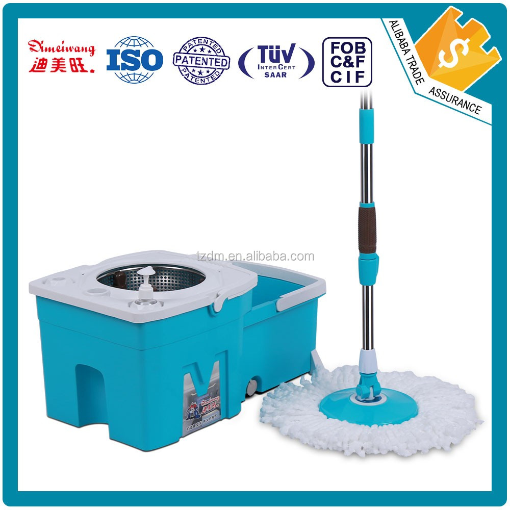 360 easy spin mop with big mop head