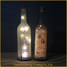 Cheap Hot Sale Top Quality Christmas DIY LED Wine Bottle Light