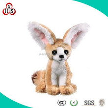 2014 Customized Best Made cute stuffed plush fox keychain For Baby