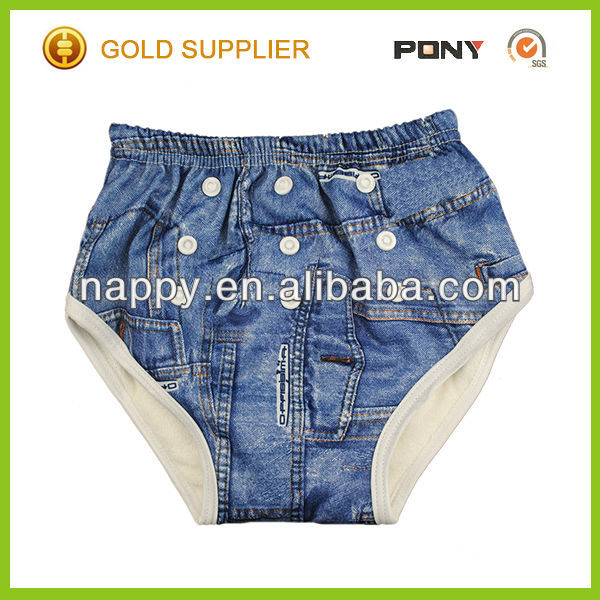 One Size Baby Pants Diaper, Resuable and Waterproof Kids Potty Training Pants