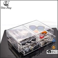 Customized Storage 4 Drawer Acrylic Makeup Organizer