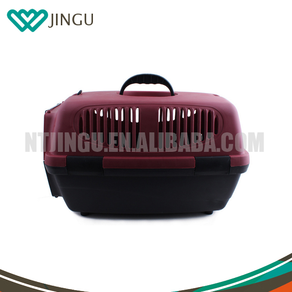 Alibaba Hot sale Plastic Pet Transporting Box/Cages For big Dogs/Puppy/Animals