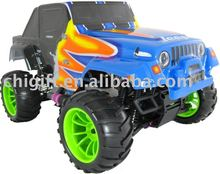 2010 Nuevo <span class=keywords><strong>RC</strong></span> <span class=keywords><strong>jeep</strong></span>, 1/10 4WD carreras off-road Monster Truck