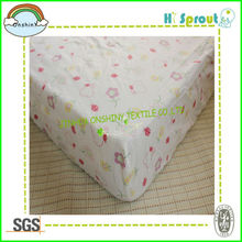 Baby Cot Sheet Eco-friendly Printing 140*70cm