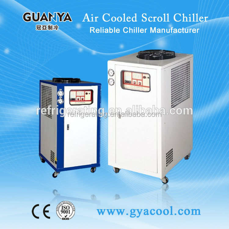 Industrial water Chiller Air cooled type use copeland compressor