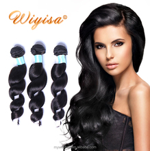100% virgin 7A grade brazilian human hair extension,26 inch virgin remy hair weft from china vendors