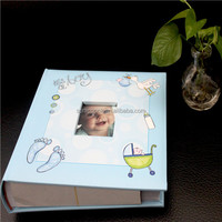 Photo albums baby album photo, paper cover bound slip in 200 photo album