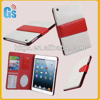 Premium Folio Book PU Leather Case Cover For Ipad Mini