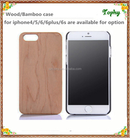 Cell phone case natural wood case for iphone4s 5s 6s, for iphone 6 plus case wood ,for iphone case 5s 6 wood