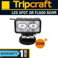 4'' 20W LED Work Light, EMC LED Work Lights, Tracktor LED driving Lamp
