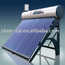shentai solar pre-heated pressure system solar water heater,