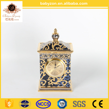 2017 New Home Decoration Hand Craft Decorative Table Clocks