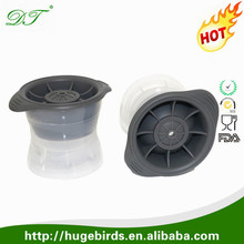 Alibaba China supplier food grade silicone whisky ice balls Round Ice Ball Spheres non stick Ice Ball Maker