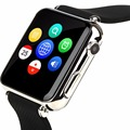 Factory best price 1.54 touch screen 2.5D sim smartwatch phone smart watch Y6
