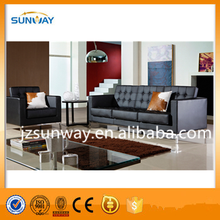 Modern PU and leather Round Corner Sofa Funetional,very Comfortable Sectional sofa