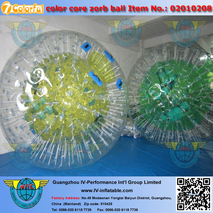 Best Price 1.00mm TPU PVC plastic inflatable human sized hamster ball for sale indoor and outdoor using