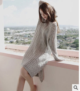 C50167S THE HOT SALE AUTUMN BOAT NECK FASHION LADIES SWEATER