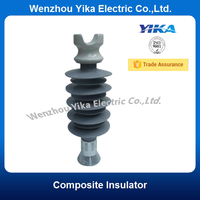 Wenzhou Yika High Voltage Electric Insulator Ceramic Composite Silicone Rubber Insulator Manufacturers