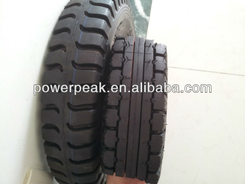 Hot sale tricycle tire type 4.00-8 in Peru